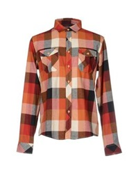 Solid Shirts Red