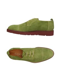 Cantarelli Lace Up Shoes Green