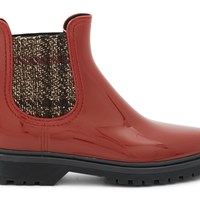Lemon Jelly Charlie Ankle Boots Loganberry Tweed