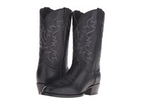 Stetson Midnight Burnished Black Cowboy Boots