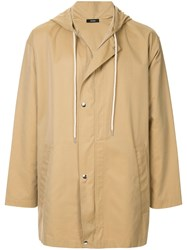 Bassike Weather Proof Jacket Brown