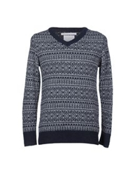 White Mountaineering Sweaters Deep Jade
