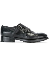 Silvano Sassetti 'Nela' Monk Shoes Black