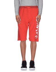Happiness Trousers Bermuda Shorts Men Red