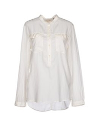 Levi's Made And Crafted Shirts White
