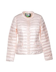 Bini Como Synthetic Down Jackets Light Pink