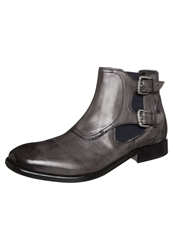 Melvin And Hamilton Malcolm 8 Boots Infant Ruboff Stone Grey