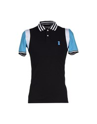Ice Iceberg Topwear Polo Shirts Men Black