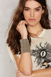 Nasty Gal Coiling Point Beaded Bracelet