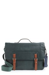 Men's Ted Baker London 'Boombag' Leather Messenger Bag