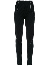 Tufi Duek Panelled Trousers Black