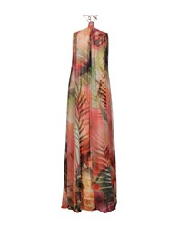 Guess By Marciano Long Dresses Apricot