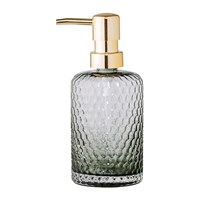 Bloomingville Grey Glass Soap Dispenser