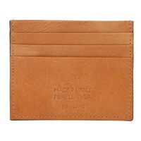John Lewis Made In Italy Credit Card Holder Tan