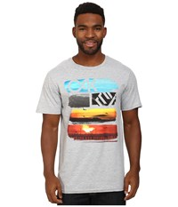 Oakley Core Sunset Tee Heather Grey Men's T Shirt Gray