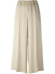 Theory Elasticated Culottes Nude And Neutrals