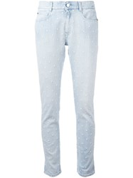 Stella Mccartney Skinny Boyfriend Star Jeans Blue