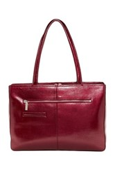 Hobo Morena Leather Tote Purple