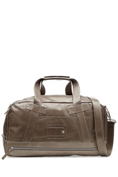 Maison Martin Margiela Maison Margiela Leather Weekend Tote Grey