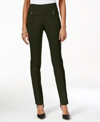 Styleandco. Style Co. Skinny Pull On Pants Only At Macy's Evening Olive