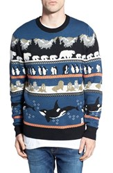 Men's Bellfield Intarsia Animal Sweater