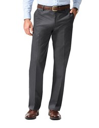 Dockers Straight Fit Solid Stretch Pants Charcoal