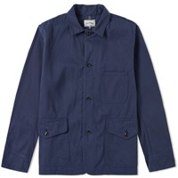 Spellbound Selvedge Coverall Jacket Blue