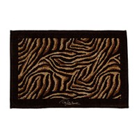 Roberto Cavalli Savana Bath Mat Brown