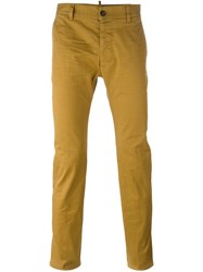 Dsquared2 Slim Fit Chinos Nude And Neutrals