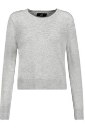 Line Cashmere Sweater Gray
