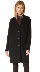 Rag And Bone Bree Raglan Reversible Coat Black Windowpane