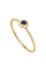 Lagos 'Covet' Stone Caviar Stack Ring Gold Sapphire