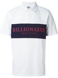 Billionaire Boys Club 'Monaco' Polo Shirt White