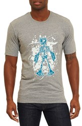 Robert Graham Men's Skeleton Robot T Shirt