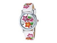 Betsey Johnson Bj00677 01 Flower Power Silver Watches