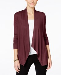 Inc International Concepts Long Sleeve Open Front Cardigan Only At Macy's Port