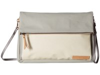 Petunia Pickle Bottom Crossover Clutch Birch Stone Clutch Handbags Beige