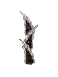 Joanna Laura Constantine Embellished Wing Triple Ring