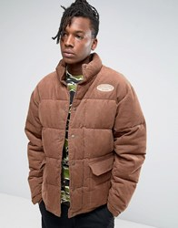 Billionaire Boys Club Corduroy Padded Jacket Tan Brown