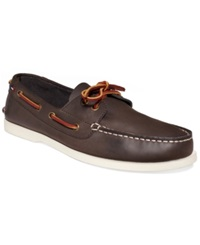 Tommy Hilfiger Bowman Boat Shoes Men's Shoes Coffee Bean