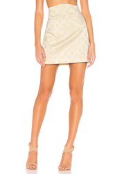 C Meo Collective Elate Skirt In Butter Yellow