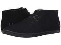 Fred Perry Byron Mid Suede Black Men's Lace Up Casual Shoes
