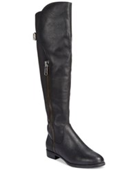 Rialto First Row Casual Over The Knee Boots Women's Shoes Black