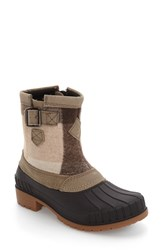 Kamik Women's Avelle Waterproof Boot Taupe Leather