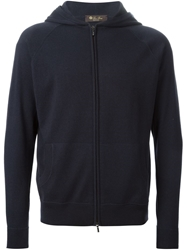 Loro Piana Zip Up Hooded Sweater