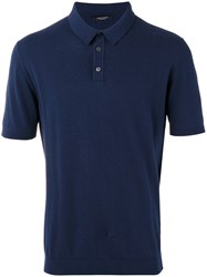 Roberto Collina Polo Shirt Blue