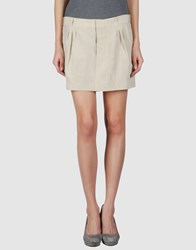 Theyskens' Theory Skirts Mini Skirts Women Beige