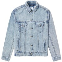 Ksubi Oh G Acid Trip Denim Jacket Blue