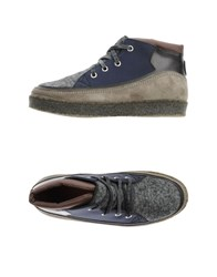 Trussardi Footwear High Tops And Trainers Men Lead