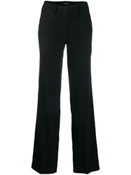 Cambio Relaxed Fit Trousers Black
